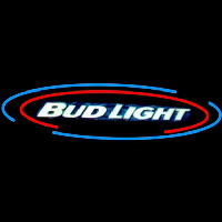 Bud Light Oval Large Beer Sign Neon Sign